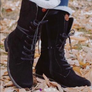 Black Martin Boot - Women